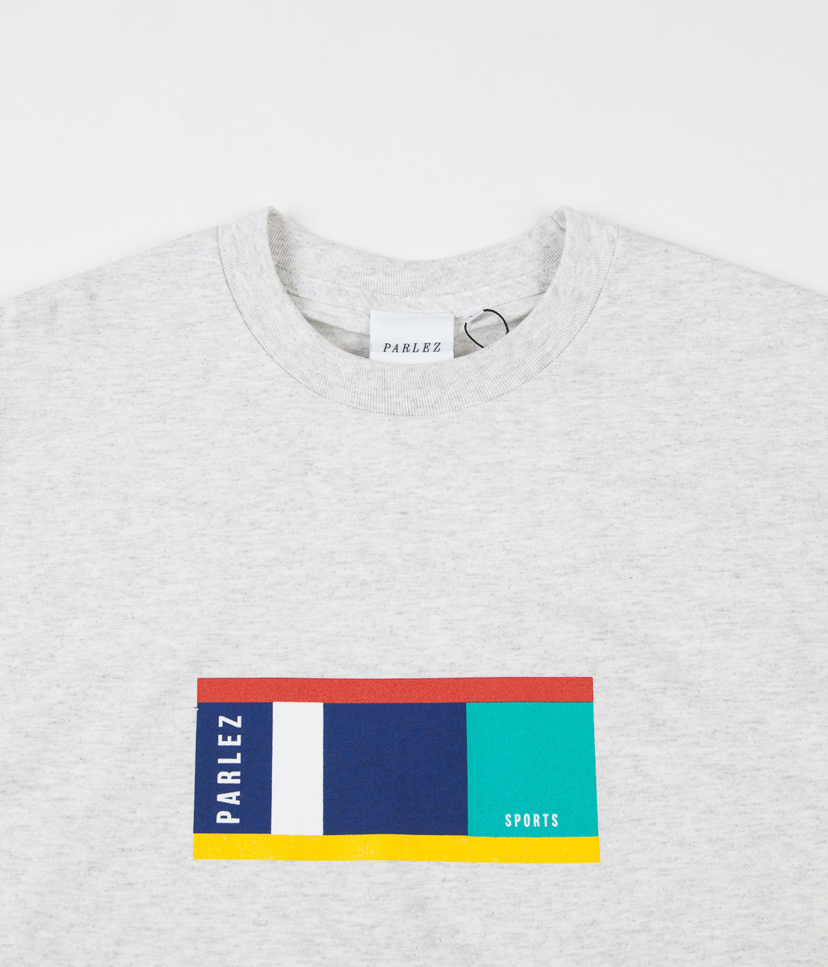 Parlez Block T-Shirt - Heather