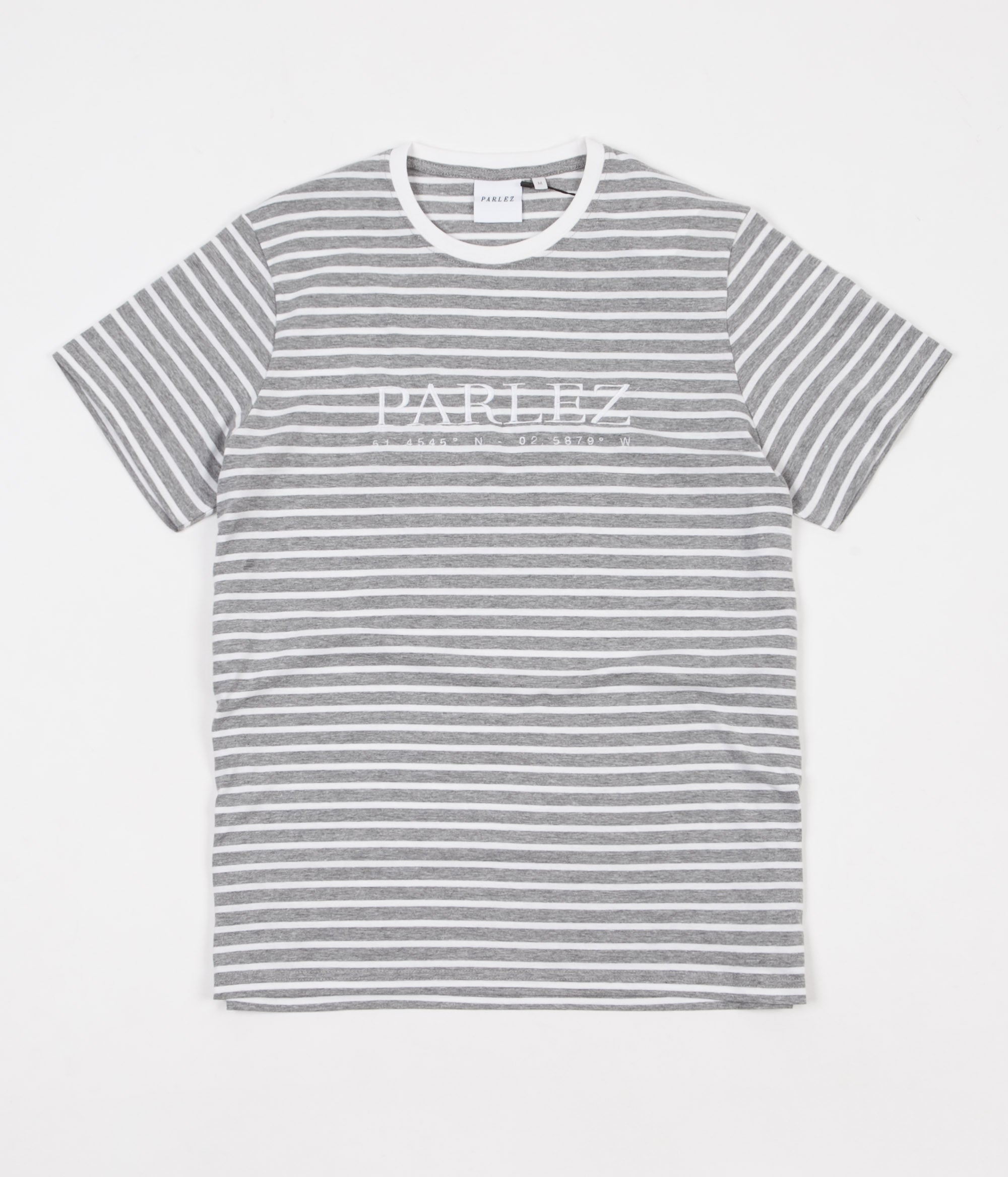 Parlez Coordinates T-Shirt - Heather Stripe
