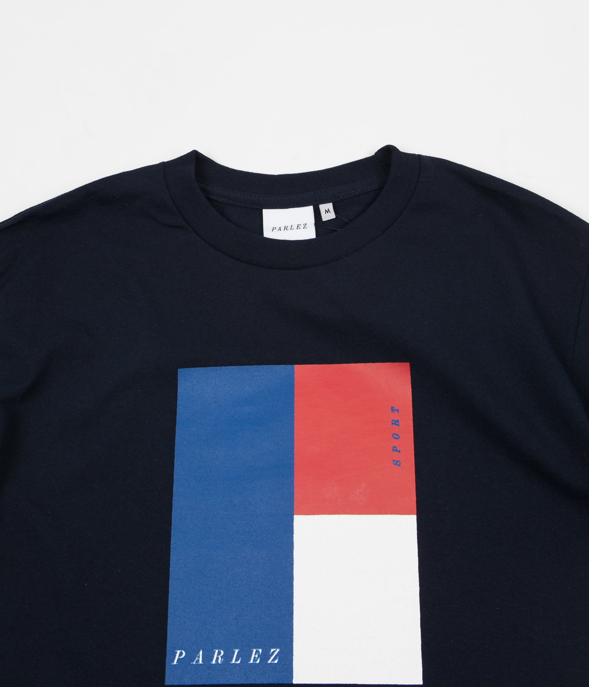 Parlez Court T-Shirt - Navy