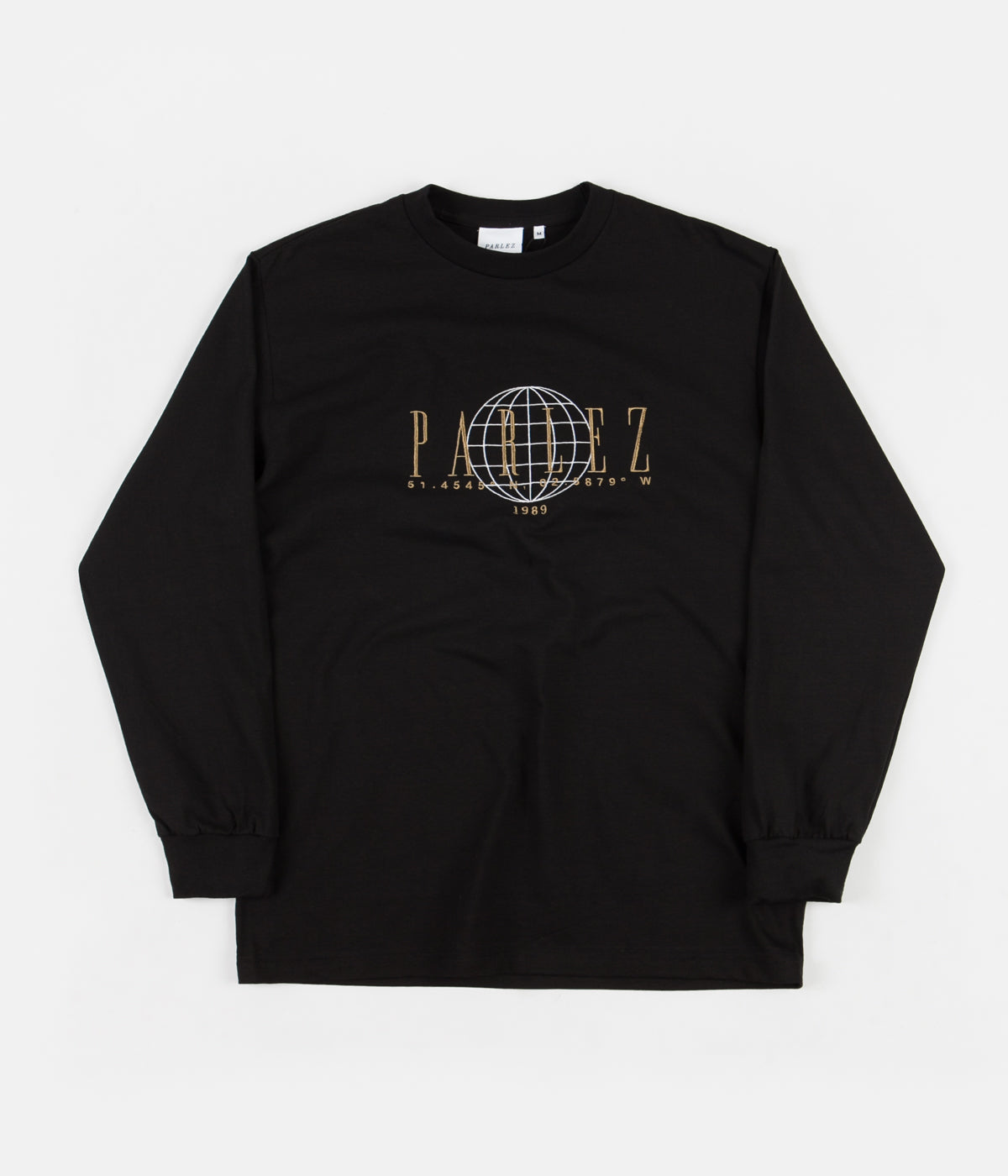 Parlez Global Long Sleeve T-Shirt - Black