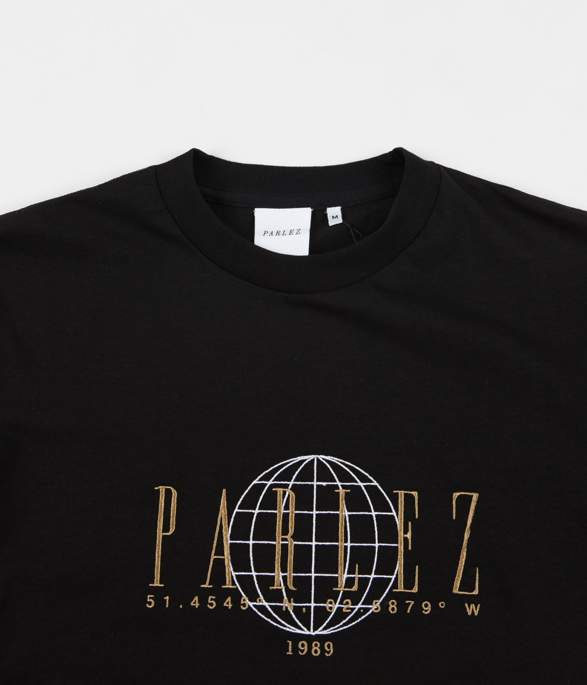 Parlez Global T-Shirt - Black