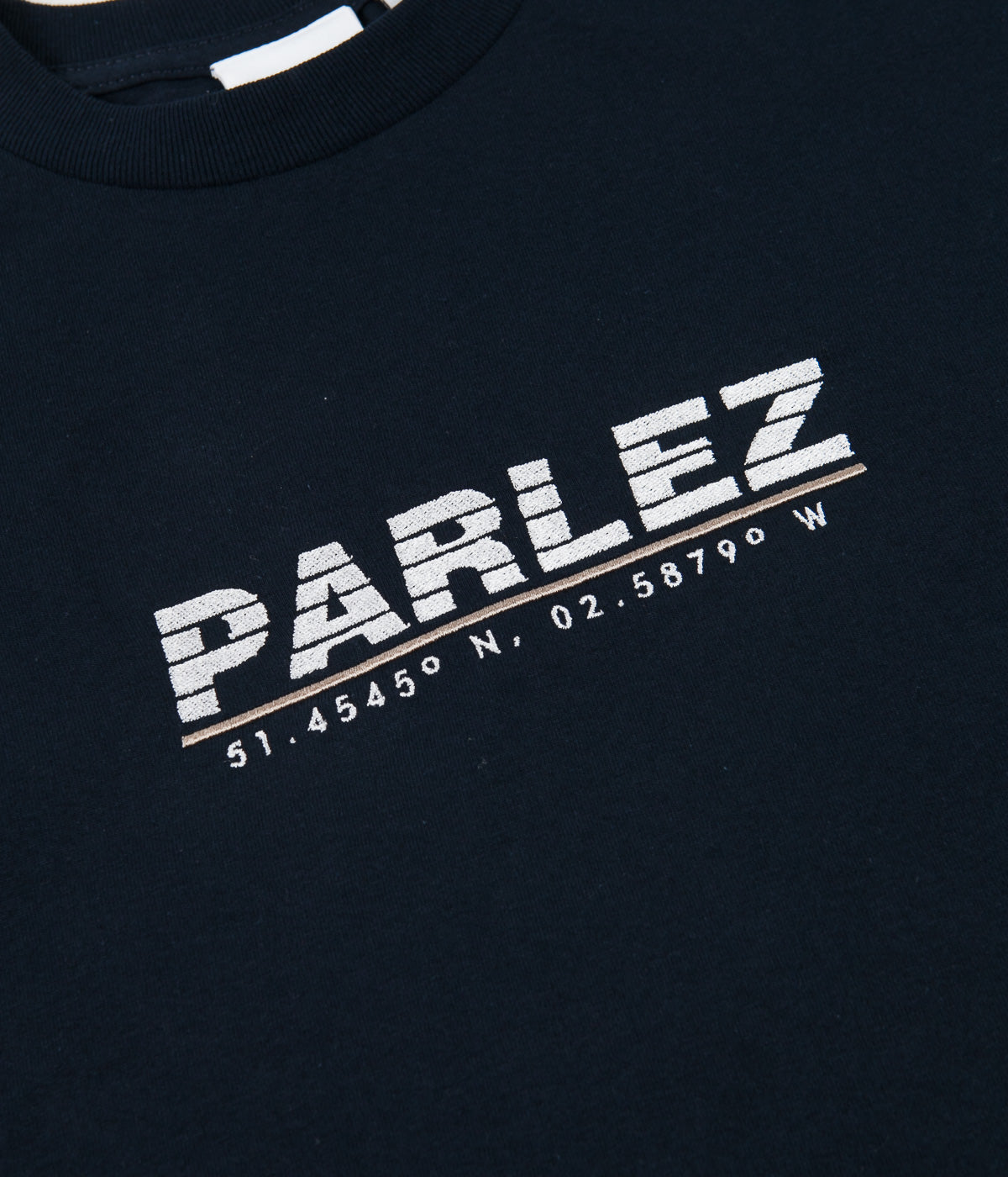 Parlez Haven Long Sleeve T-Shirt - Navy