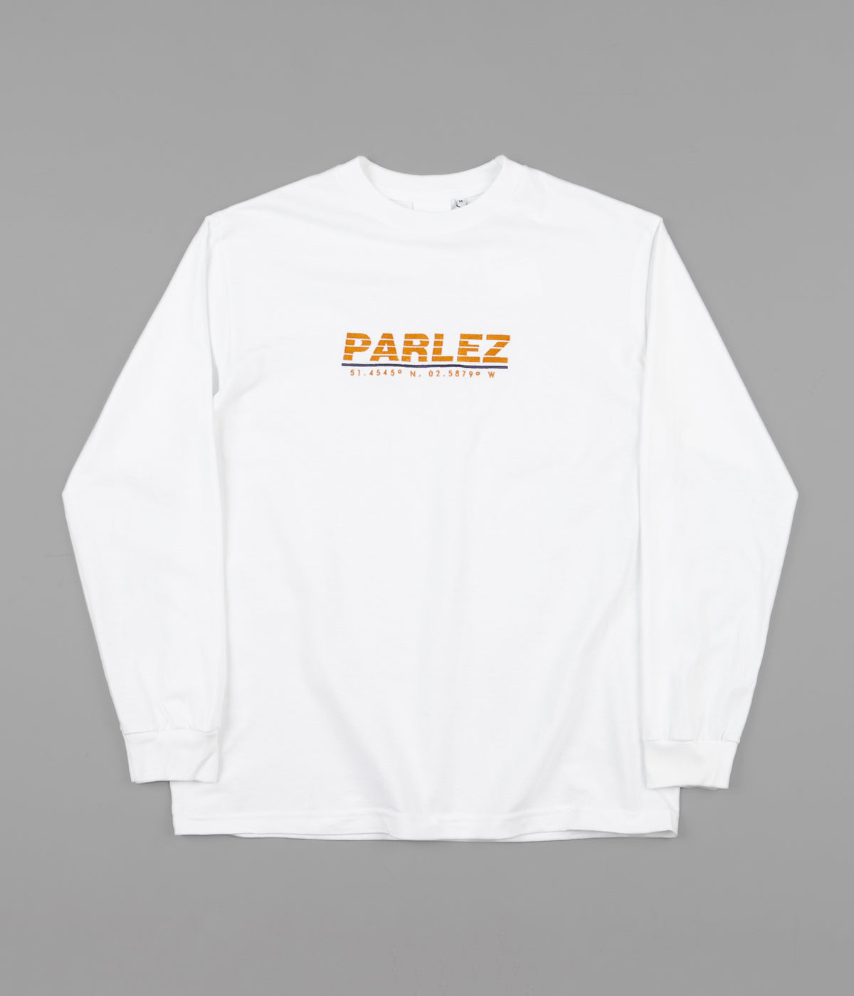 Parlez Haven Long Sleeve T-Shirt - White