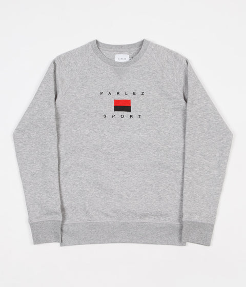 Parlez Hblock Crewneck Sweatshirt - Heather