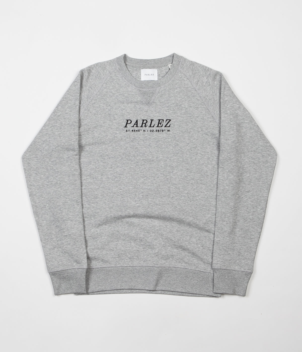 Parlez High Crewneck Sweatshirt - Heather Grey