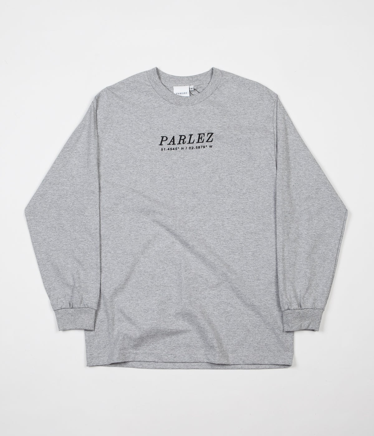 Parlez High Long Sleeve T-Shirt - Heather
