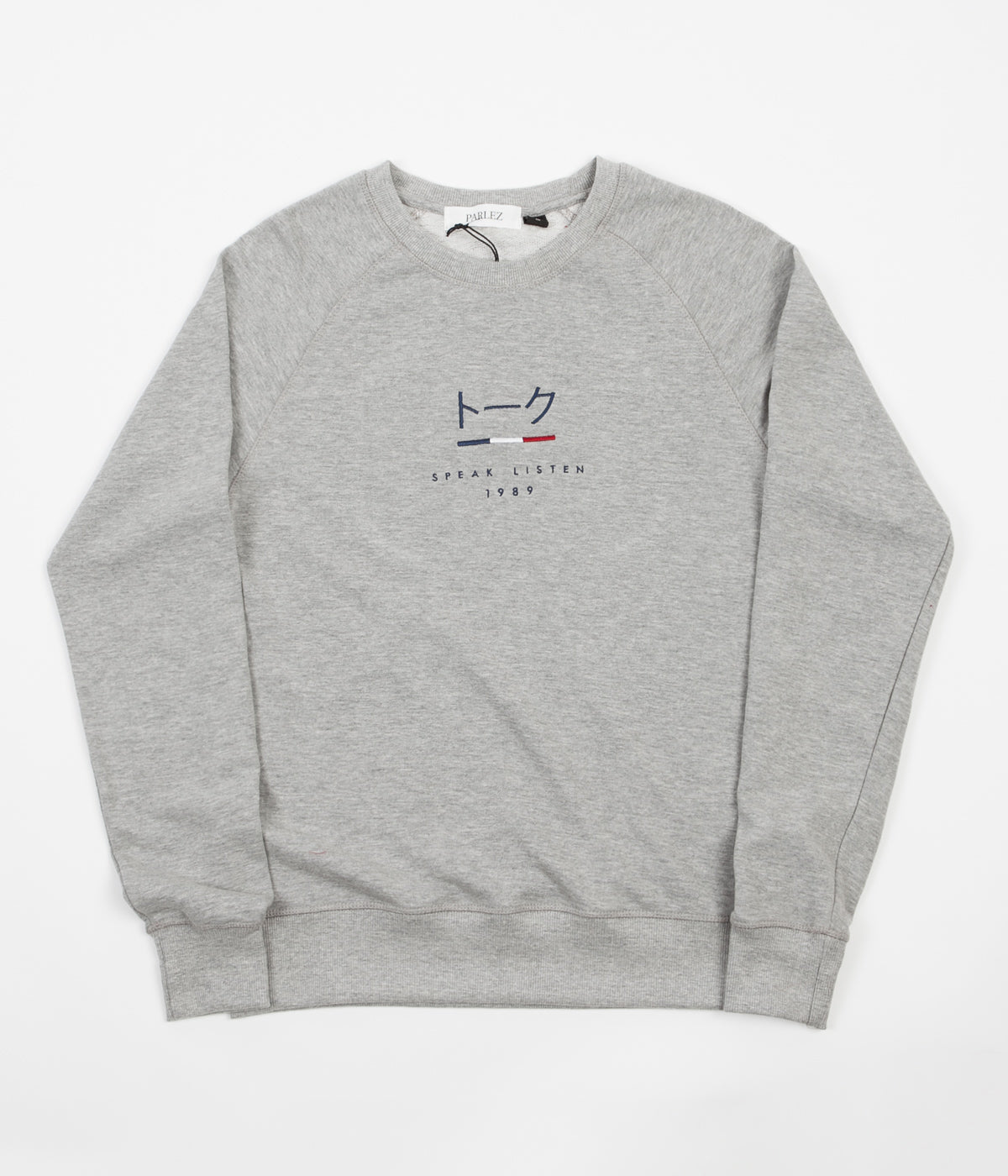 Parlez Kiku Crewneck Sweatshirt - Heather Grey