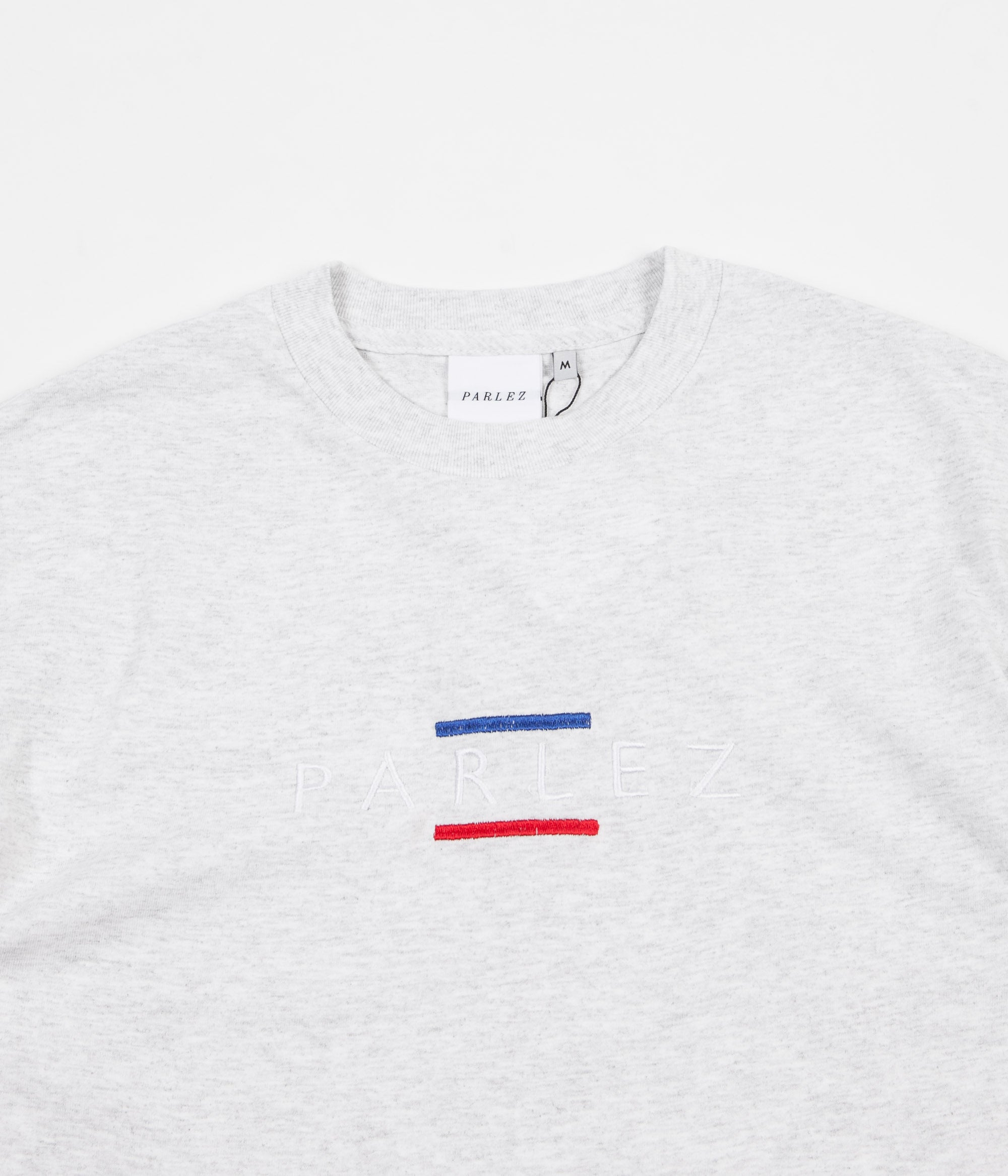 Parlez Lines T-Shirt - Light Heather