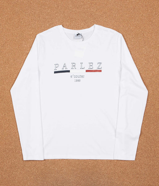 Parlez Malmo Long Sleeve T-Shirt - White
