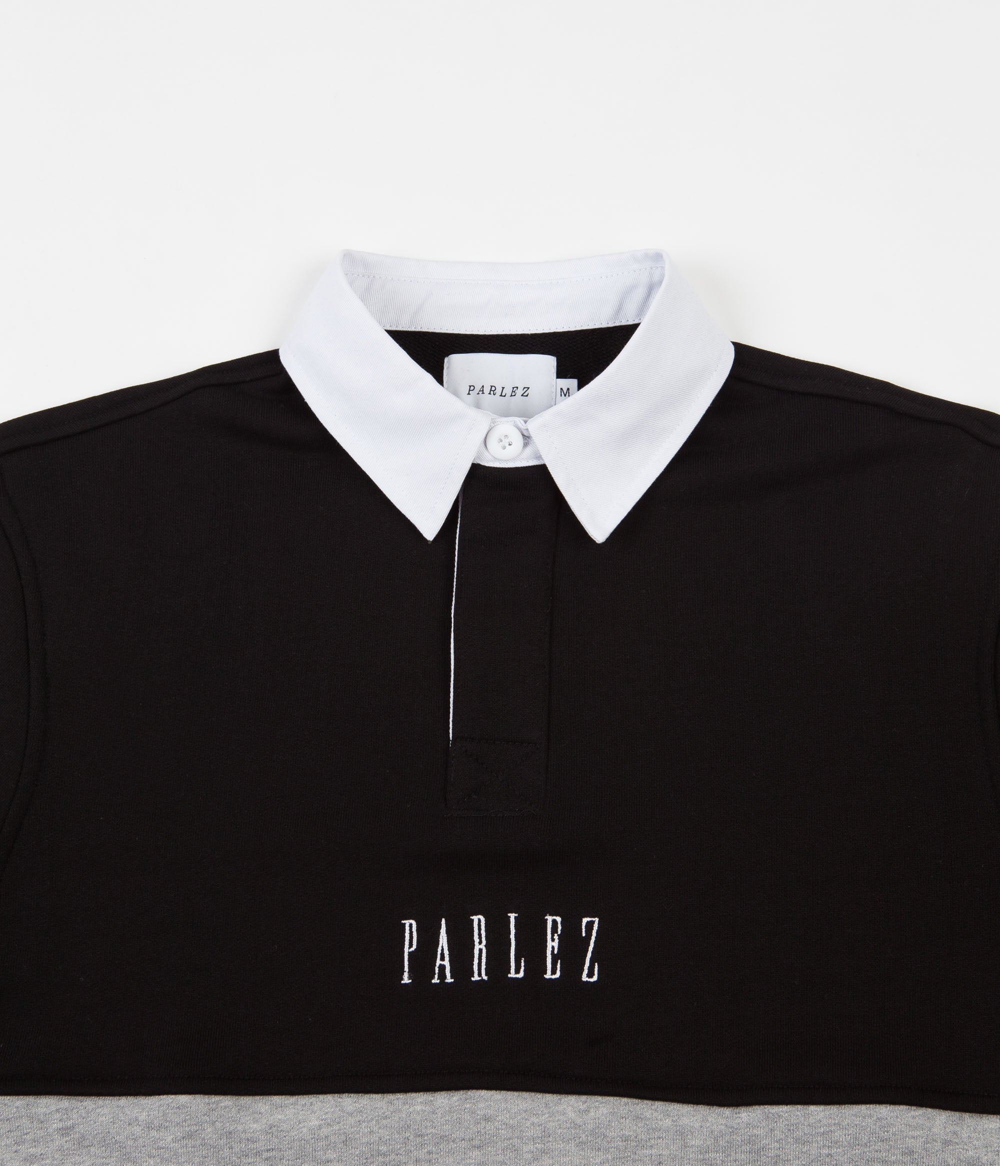 Parlez Purser Rugby Shirt - Heather