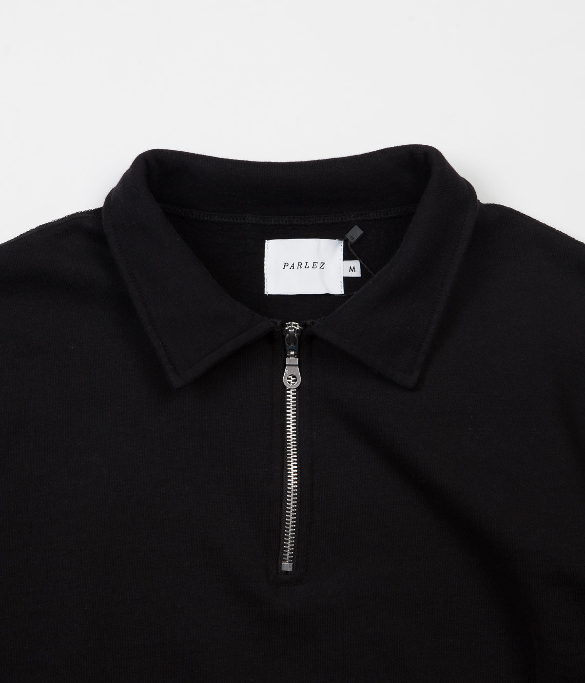 Parlez Sigurd 16oz 1/4 Zip Sweatshirt - Black
