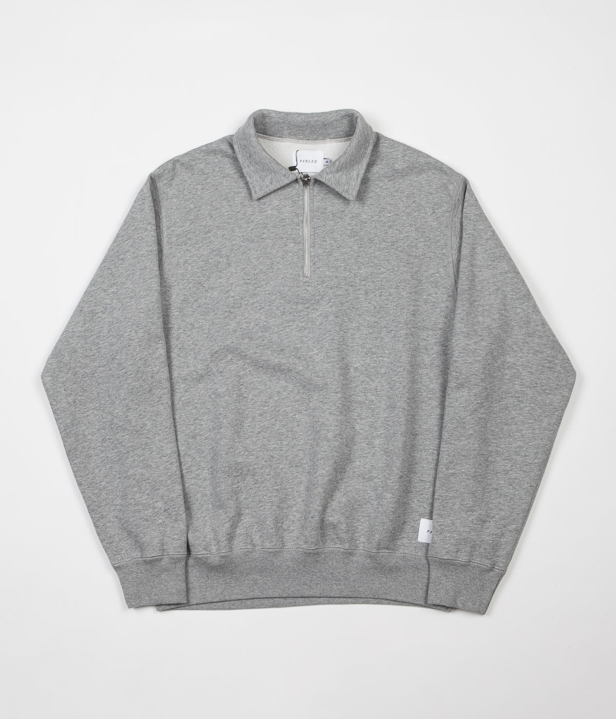 Parlez Sigurd 16oz 1/4 Zip Sweatshirt - Heather