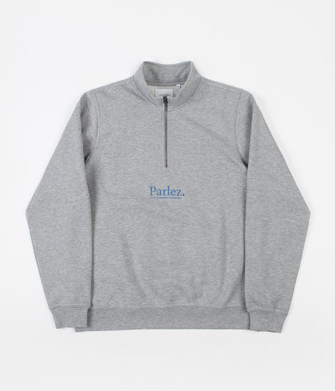 Parlez Skutsje 1/4 Zip Sweatshirt - Heather