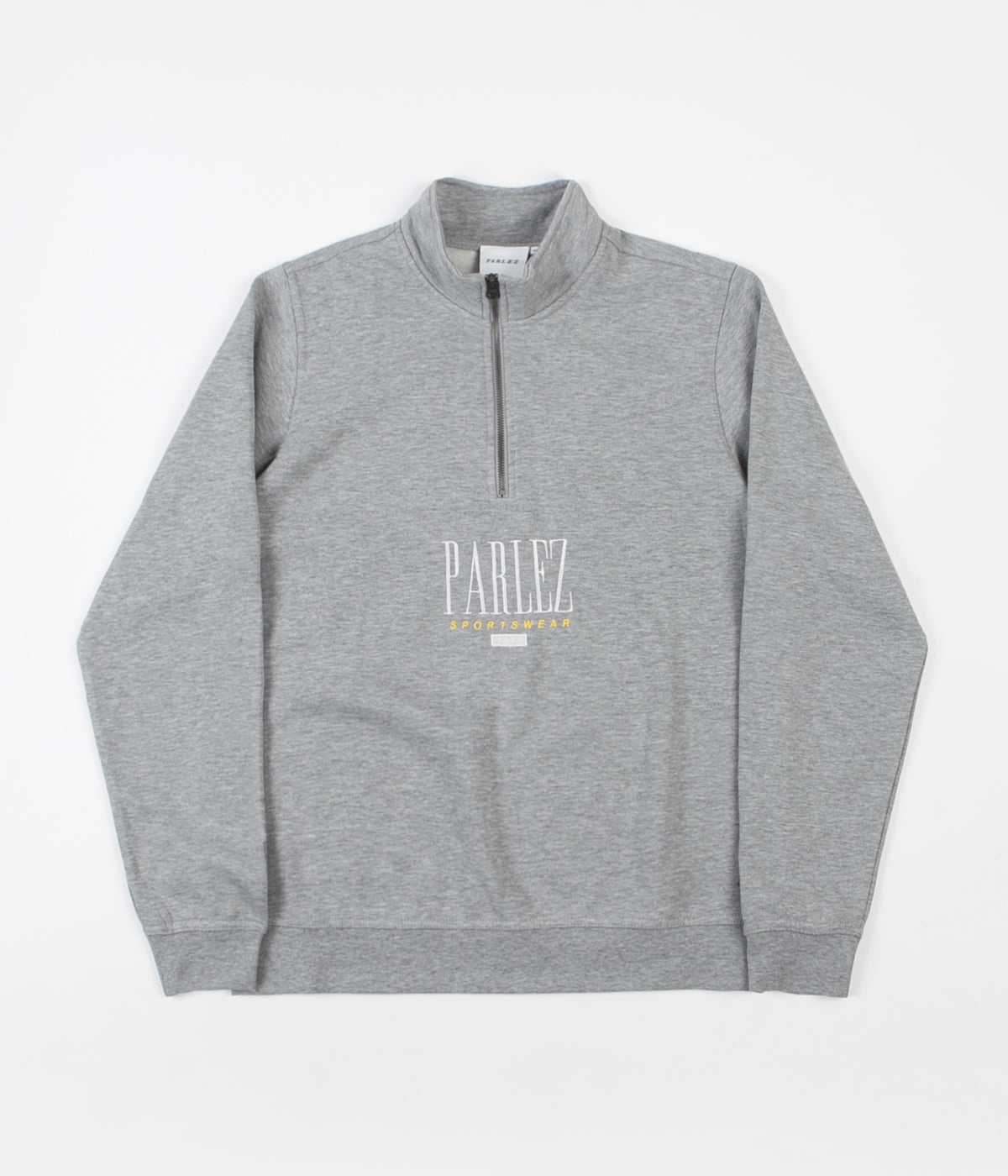 Parlez Spits 1/4 Zip Sweatshirt - Heather