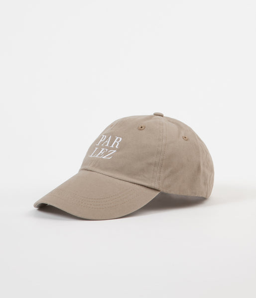 Parlez Splice 6 Panel Cap - Ecru