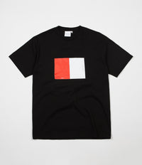 Parlez Split T-Shirt - Black