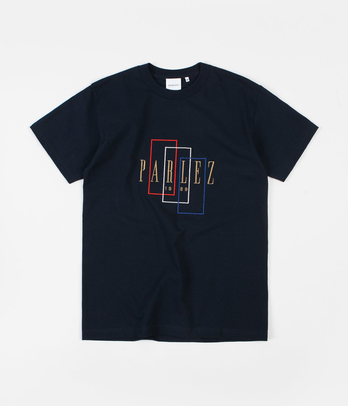 Parlez Spray T-Shirt - Navy