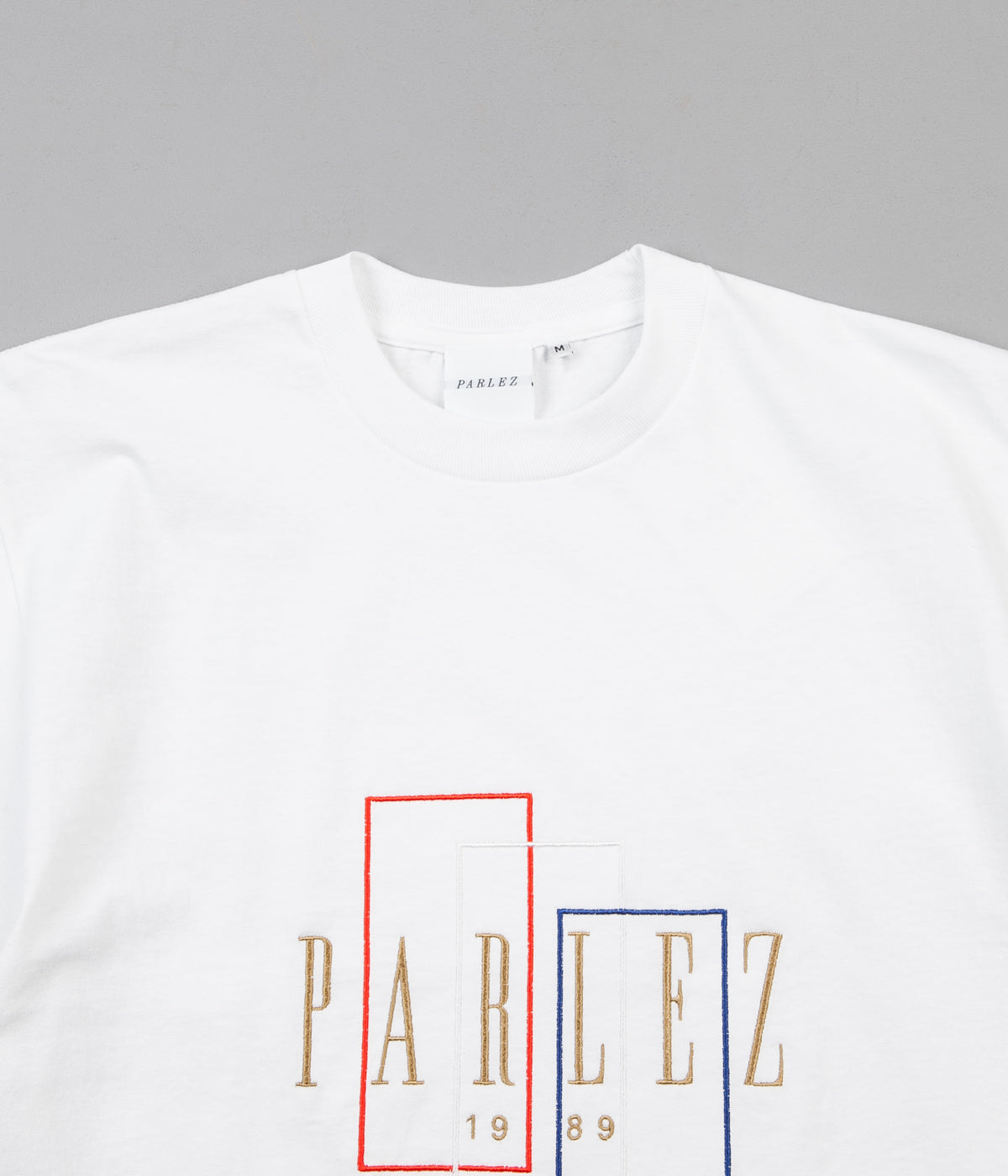 Parlez Spray T-Shirt - White