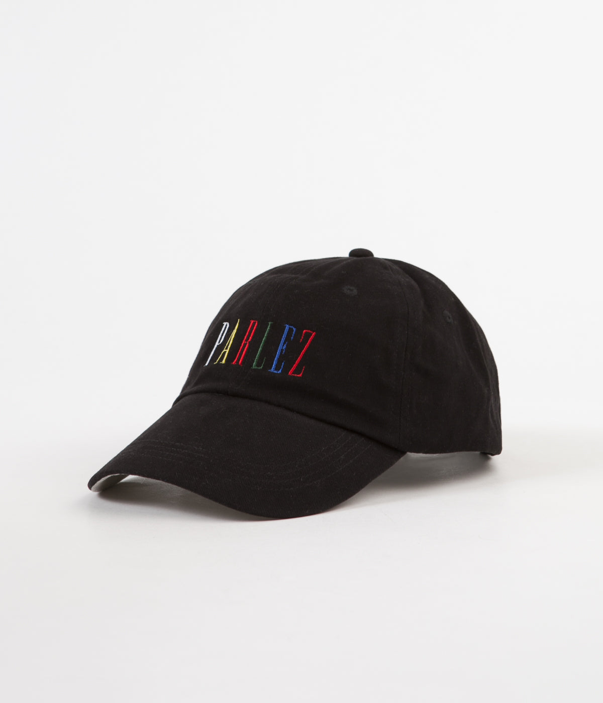 Parlez Tall 6 Panel Cap - Black