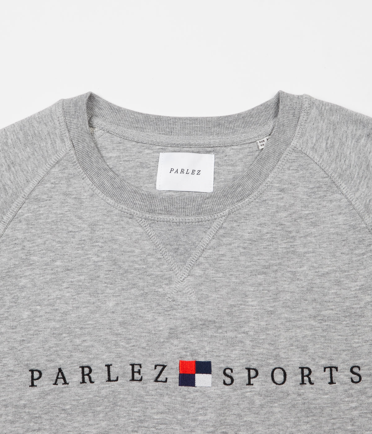 Parlez Tidal Crewneck Sweatshirt - Heather Grey