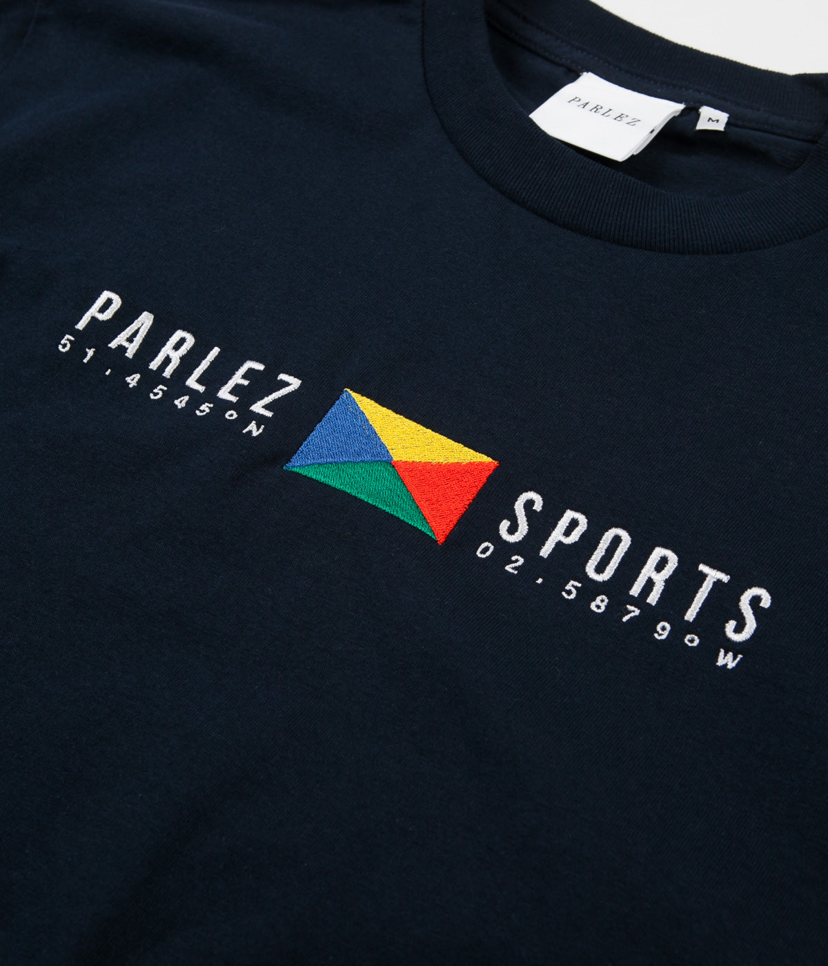 Parlez Tjalk T-Shirt - Navy