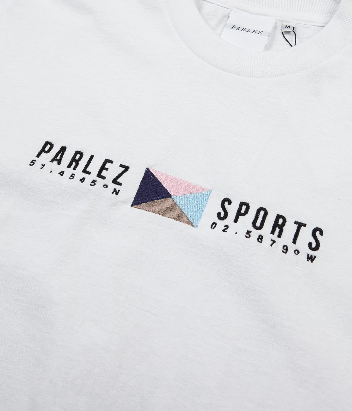 Parlez Tjalk T-Shirt - White / Khaki