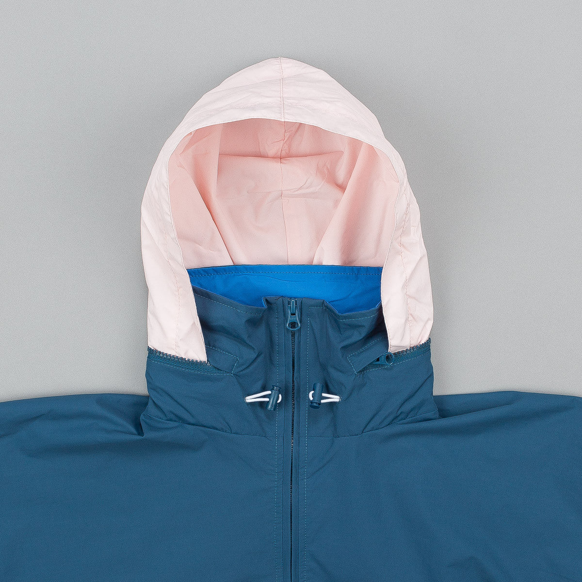 Parra 1994 Windbreaker Jacket - Mallard Green / Blue