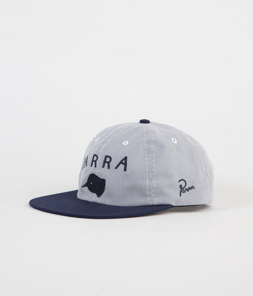 Parra Beak Knob 6 Panel Cap - Navy Pincord