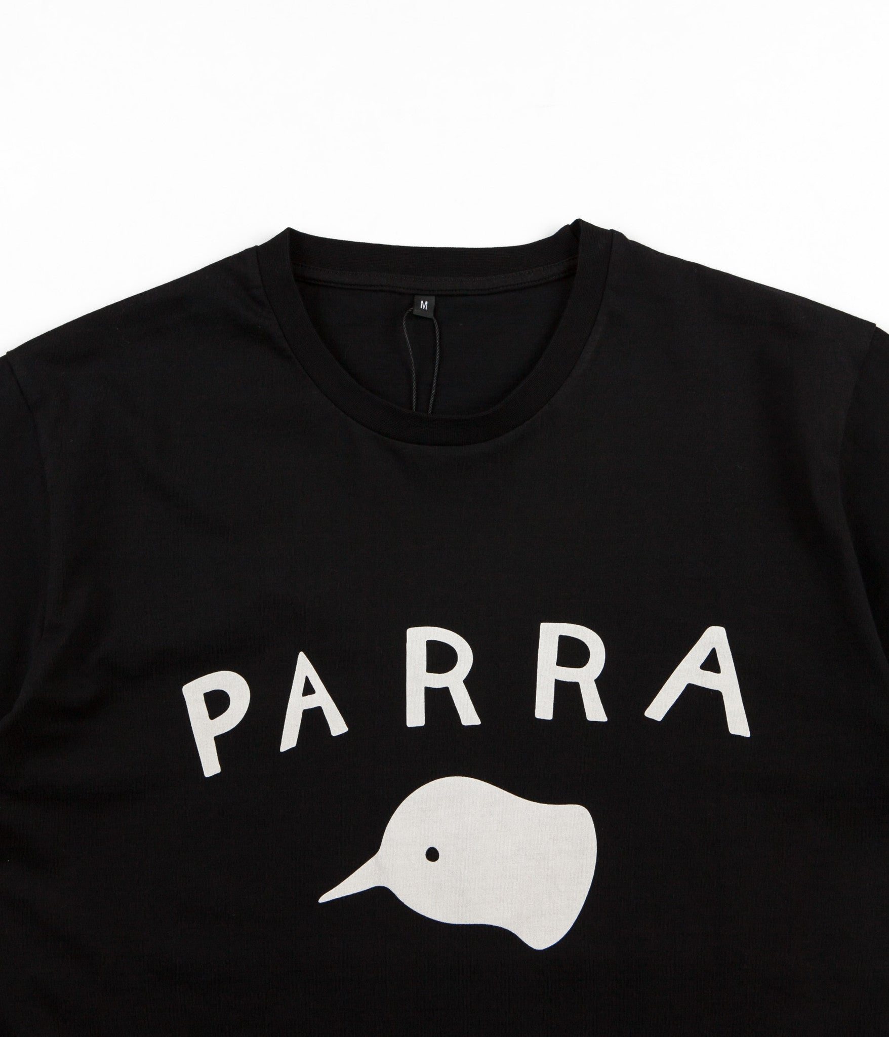 Parra Beak Knob T-Shirt - Black