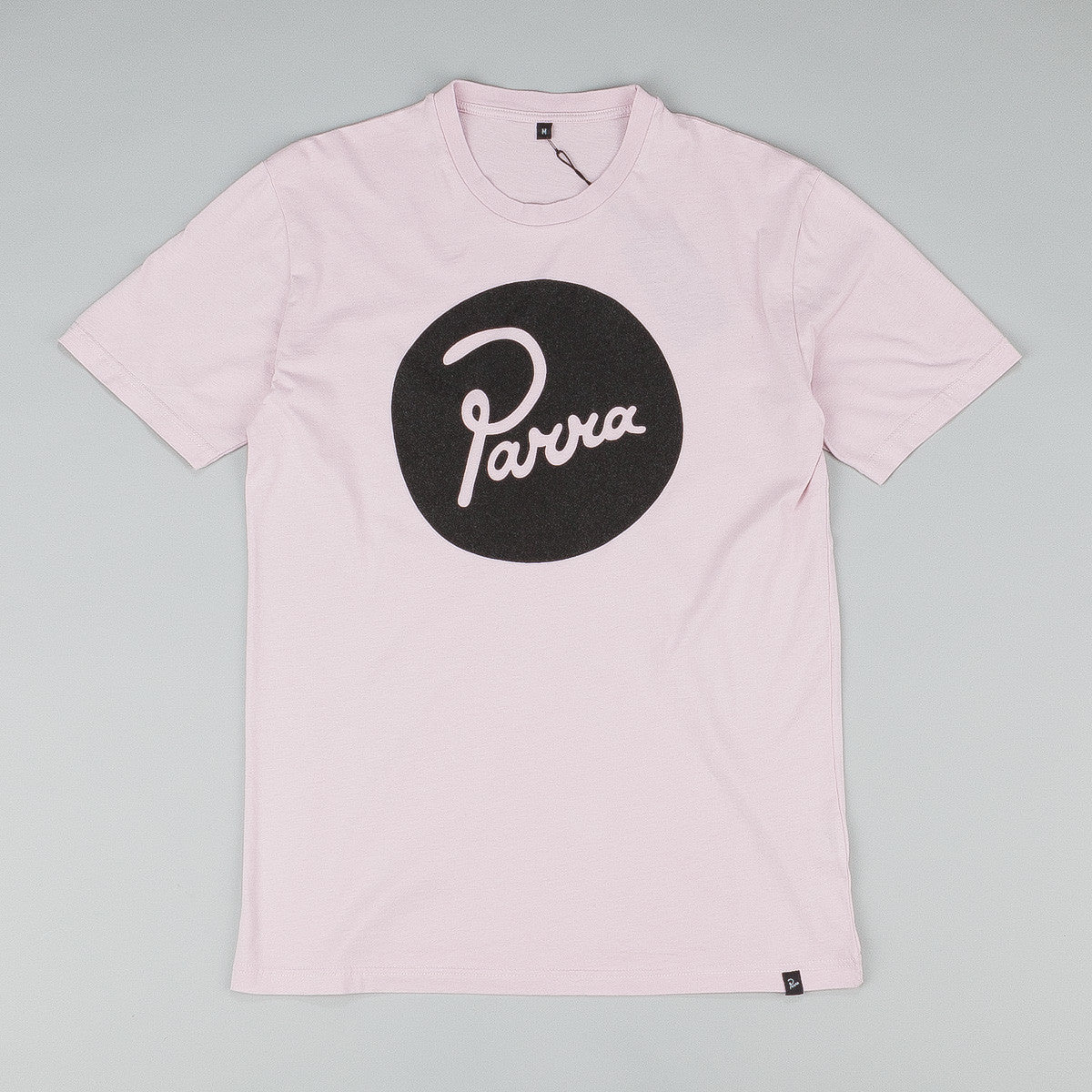 Parra Circle Logo T-Shirt - Old Pink