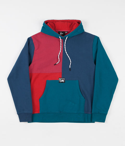 by Parra Colourblocked Hoodie - Multi
