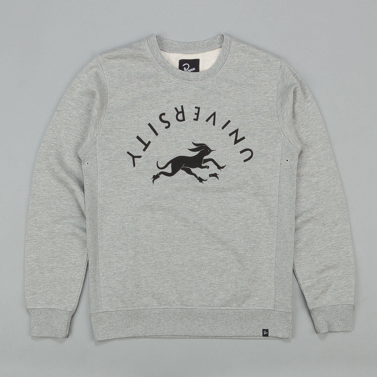Parra Detached University Crew Neck Sweatshirt