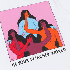 Parra Detached World T-Shirt - White