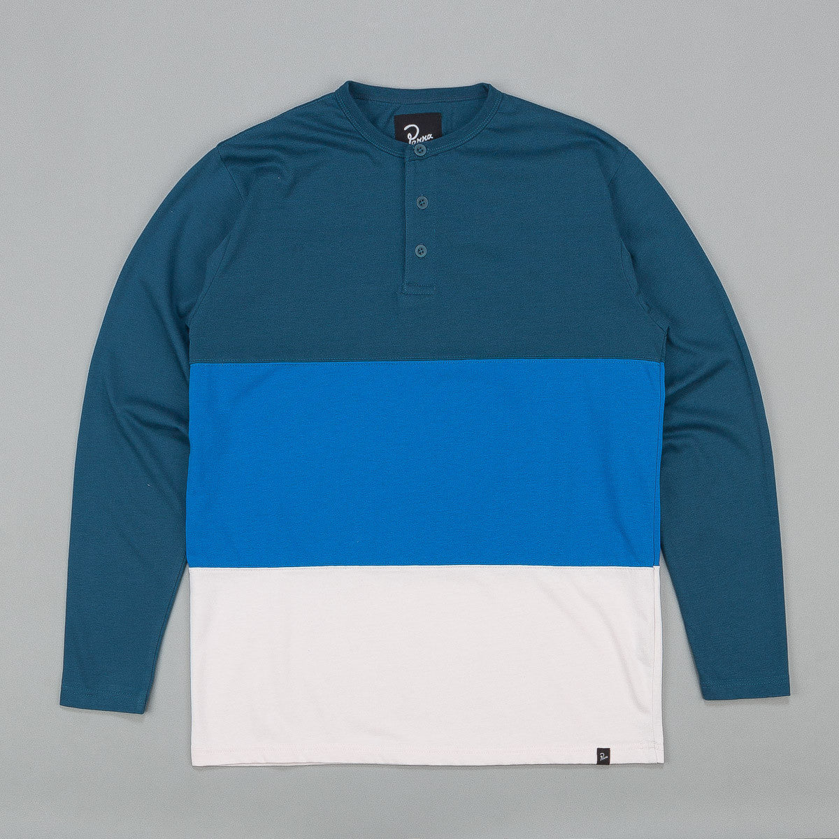 Parra Henley Long Sleeve T-Shirt