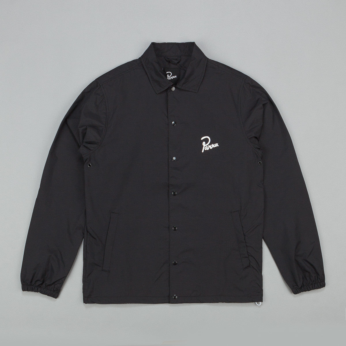 Parra Hiding Coach Jacket - Black
