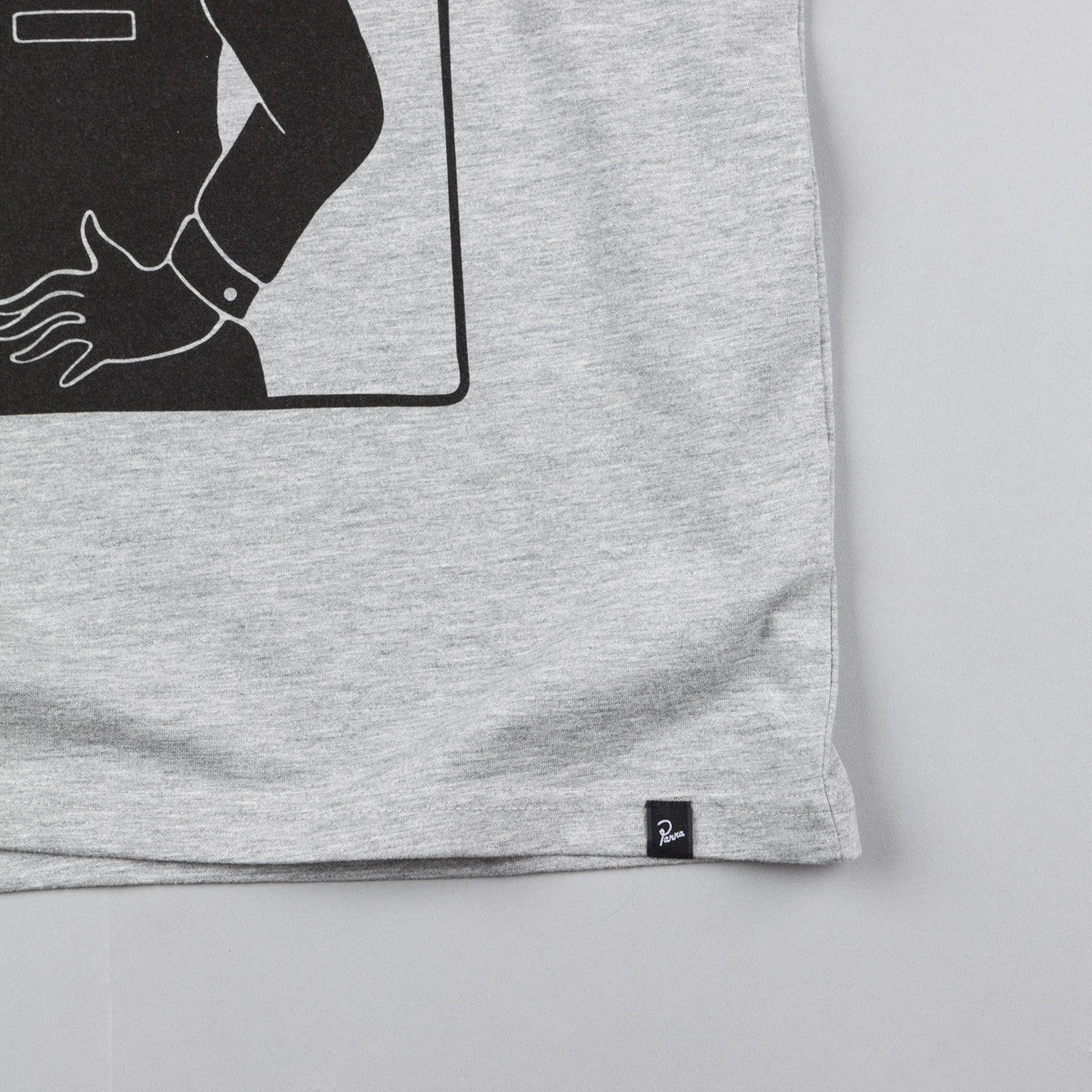 Parra Sports T-Shirt - Heather Grey