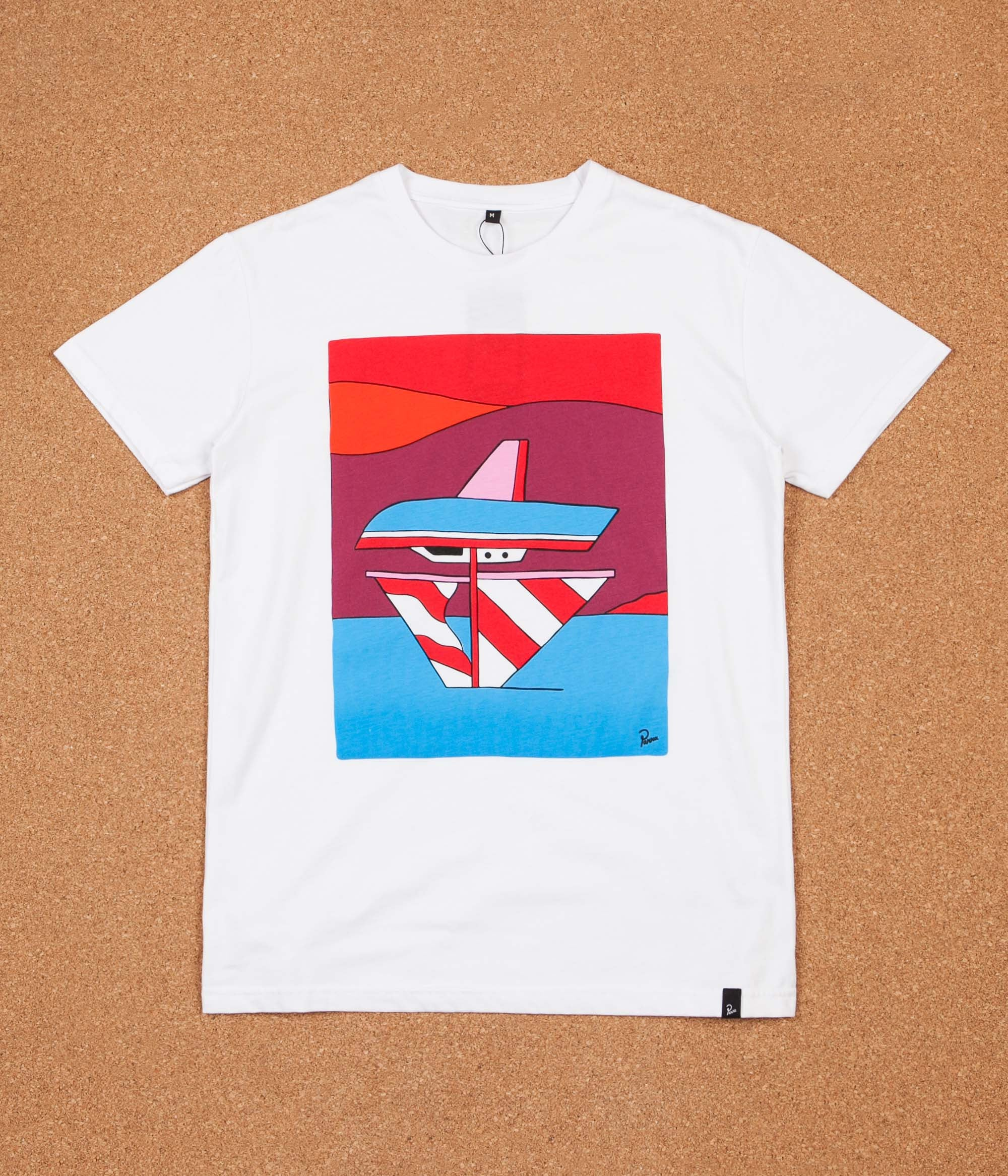 Parra Wrong Sail T-Shirt - White