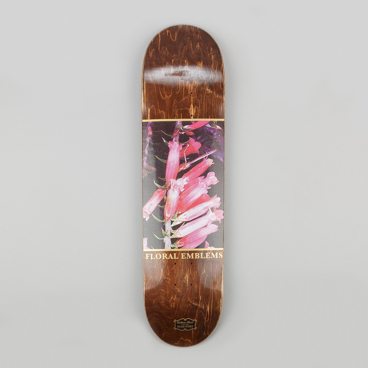 Pass Port Floral Emblems Callum Paul Deck