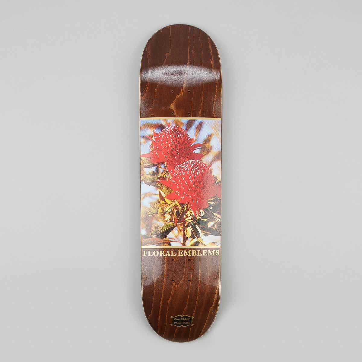 Pass Port Floral Emblems Dean Plamer Deck