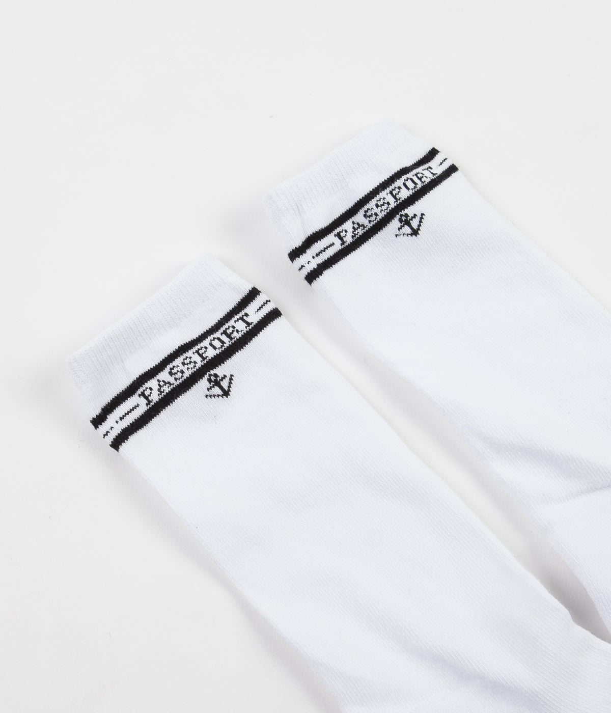 Pass Port Hi Sox 5 Pack - White