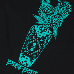 Pass Port Likely Floral T-Shirt - Black