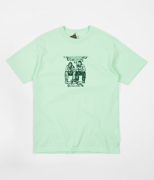 Pass Port No Way Out T-Shirt - Mint