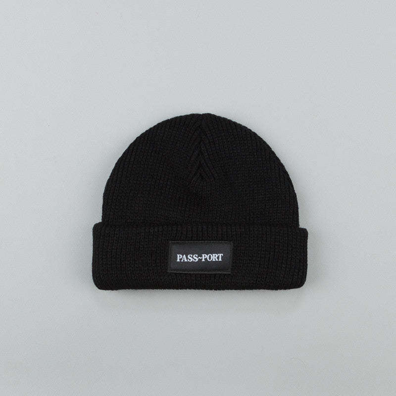 Pass Port Official Beanie Black