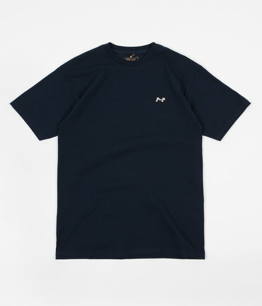 Pass Port P~P Raised T-Shirt - Navy