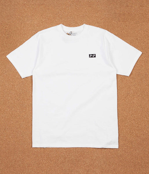 Pass Port P~P Raised T-Shirt - White