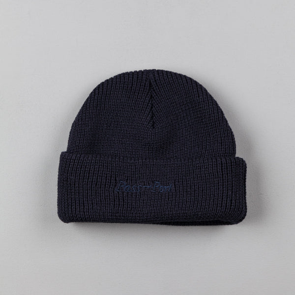Pass Port Safe P~P Beanie - Navy