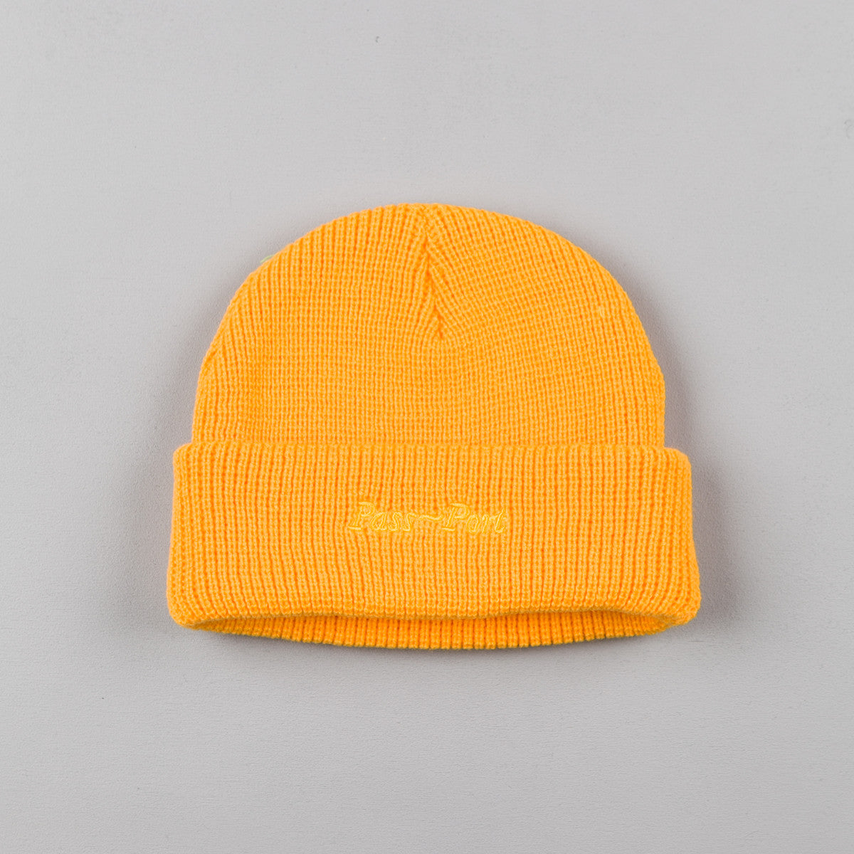 Pass Port Safe P~P Beanie - Yellow
