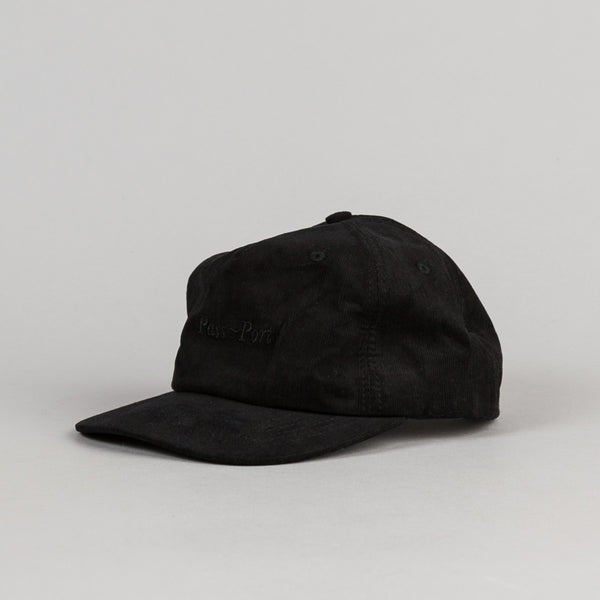 Pass Port Safe P~P Cap - Black