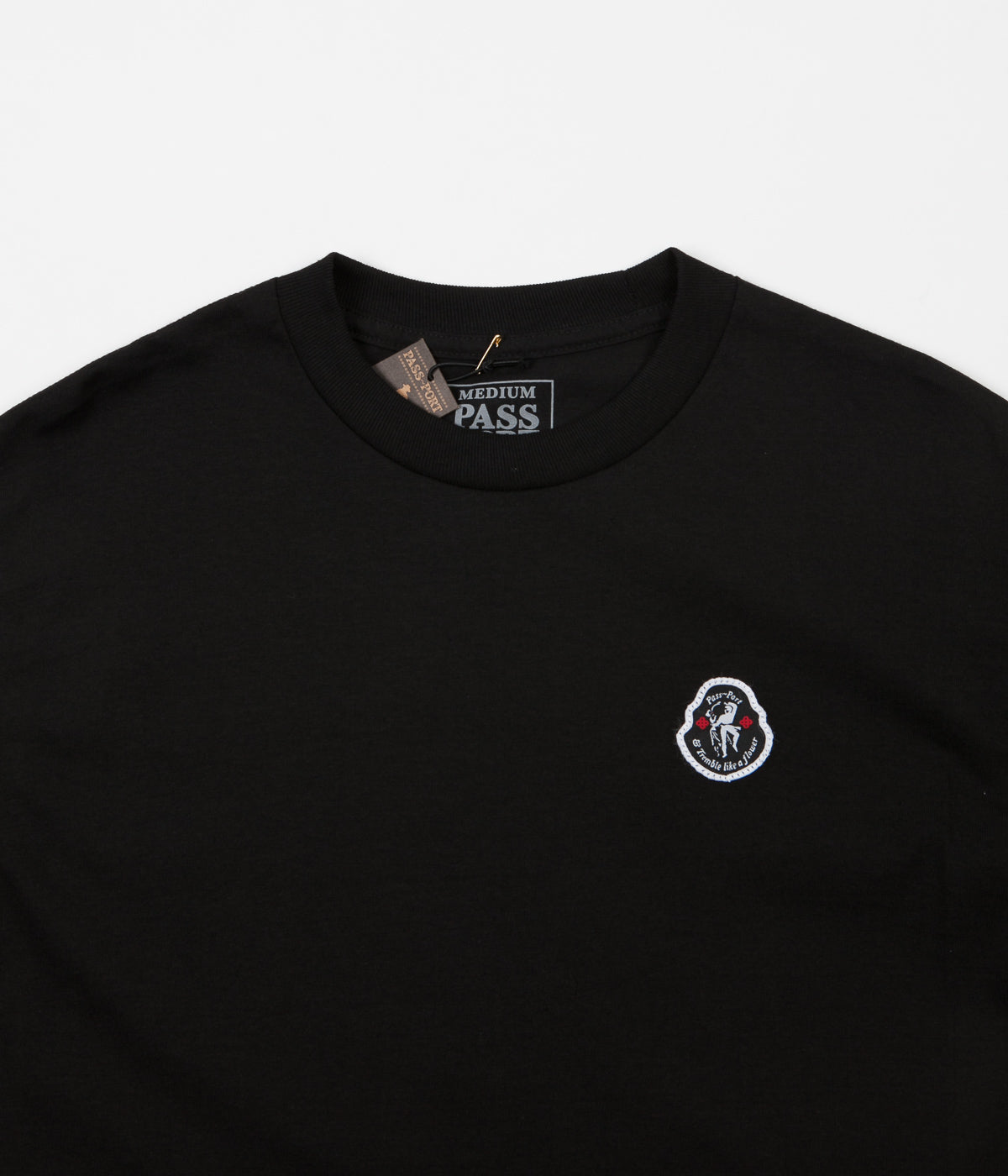 Pass Port Tremble T-Shirt - Black