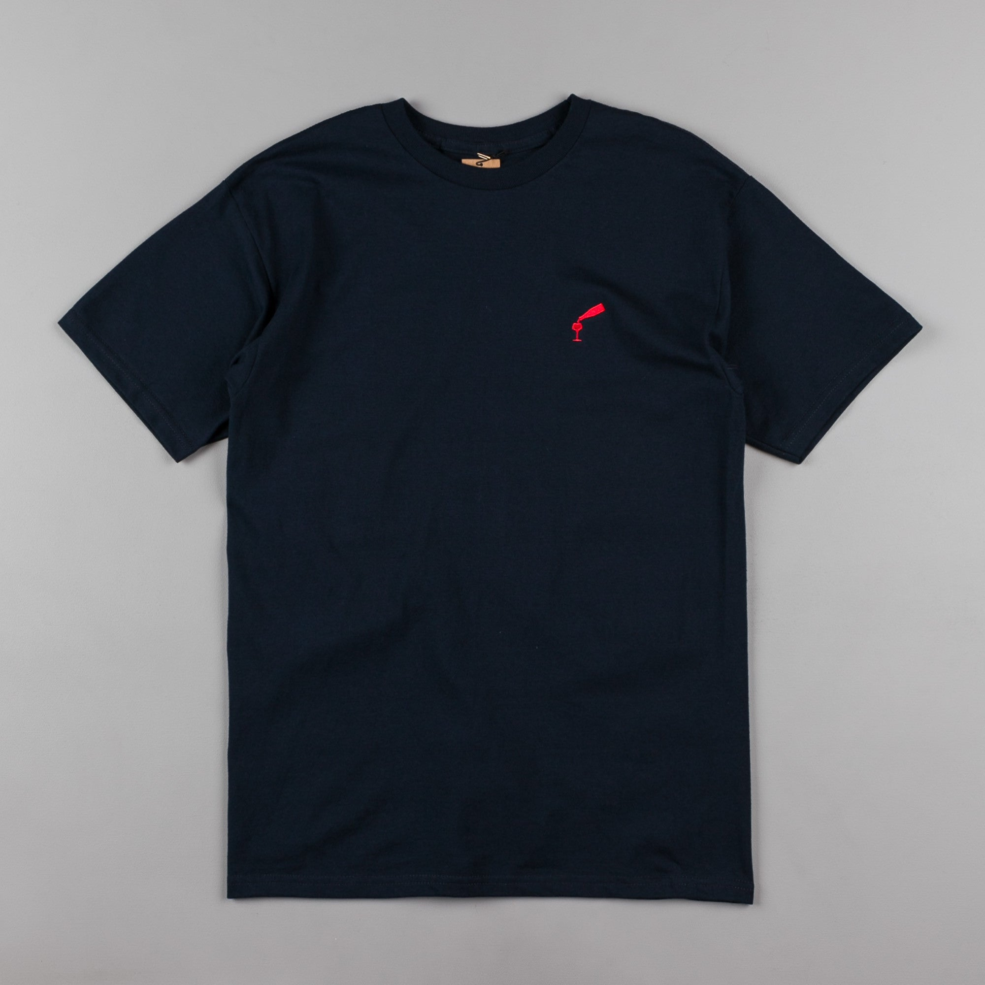 Pass Port Wine Time T-Shirt - Navy